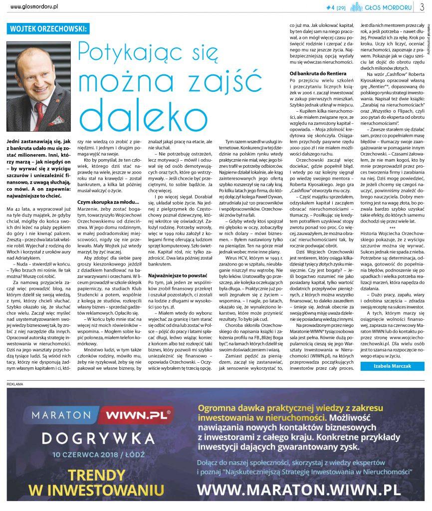 Wojciech Orzechowski WIWN Głos Mordoru Zarabiaj na Nieruchomościach